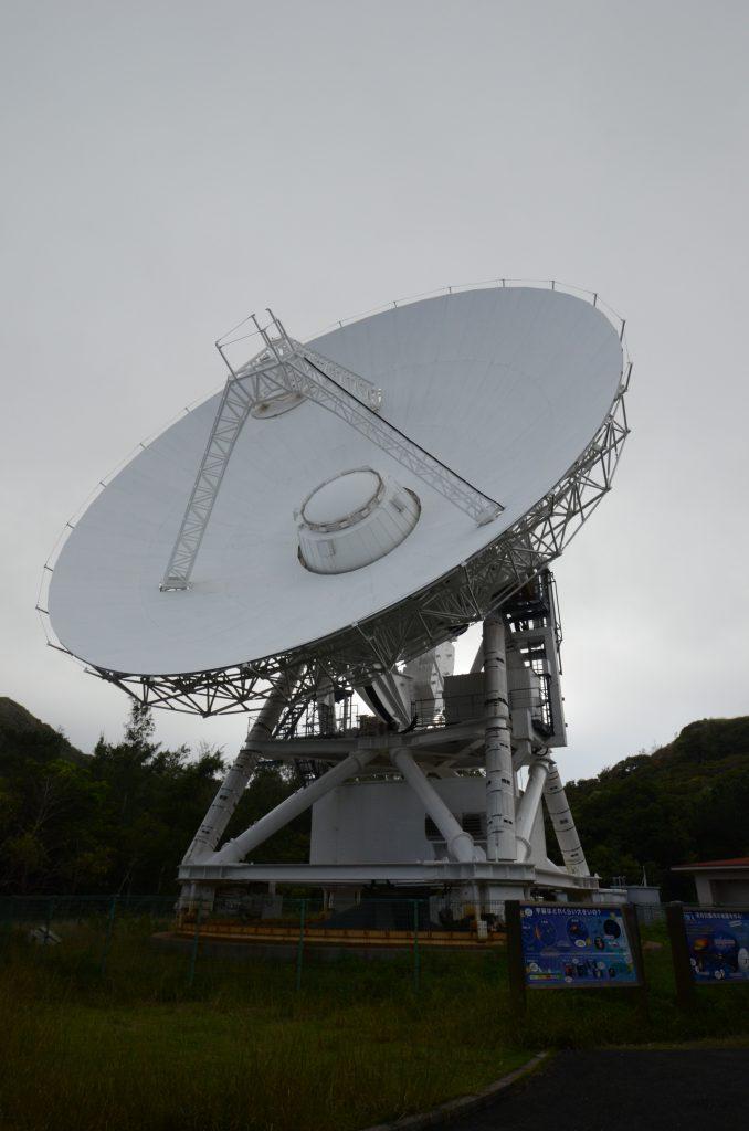 国立天文台VERA パラボラアンテナの雄姿