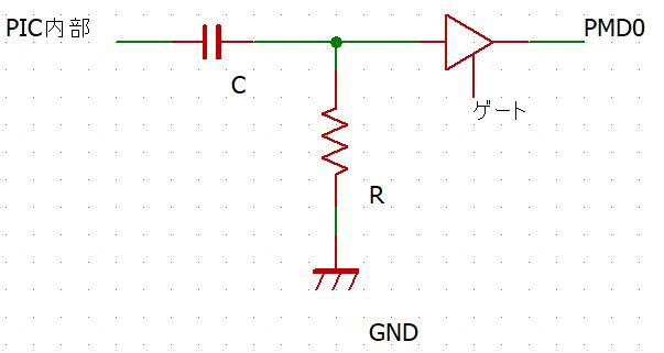 PMDの出力回路(推測)
